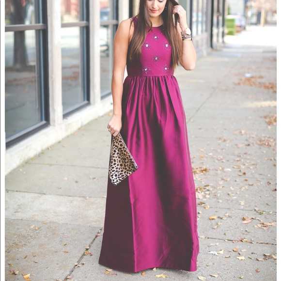Adrianna Papell Ballgown With Jewels   Poshmark